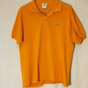 Lacoste orange size medium